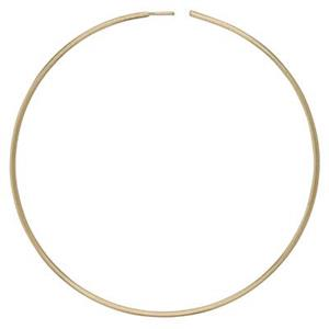 GF350: Gold-Filled 30mm Wire Hoop Earring