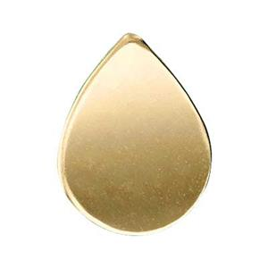 GF376: 14/20 Gold-filled Teardrop Blank