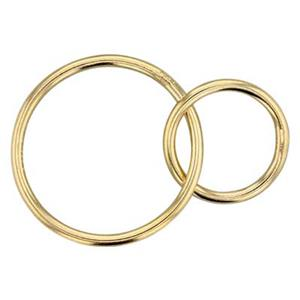 GF5010: 14/20 Gold Filled Circle Links