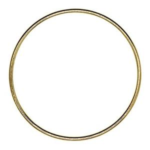 GF5443: Gold-Filled 25mm Wire Circle Ring