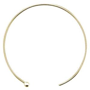 GF6806: 14/20 GF Ball End Hoop Earwire