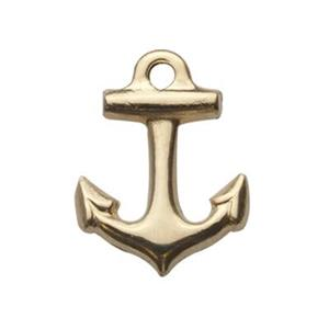 GF746: Gold-Filled Anchor Charm
