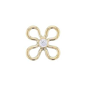 GF838CZ: 14/20 Gold-filled Wire Daisy Link with CZ