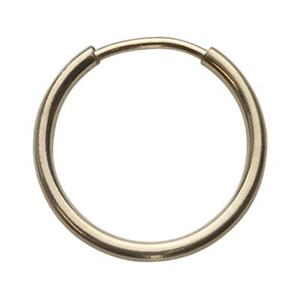 GF955: 14/20 Gold-filled 14mm Endless Hoop Earring
