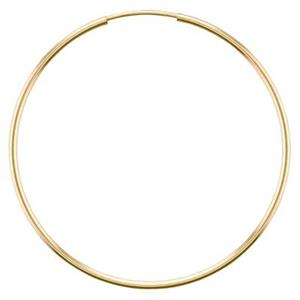 GF9640: 14/20 Gold-filled 50mm Endless Hoop Earring