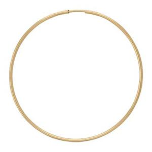 GF9650: Gold-Filled 55mm Endless Hoop Earring