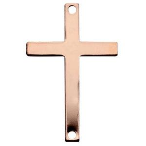 GFR1046: Rose Gold-Filled Flat Cross Link