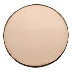 GFR116: Rose Gold-Filled 19.2mm Large Circle Blank