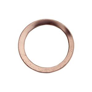 GFR2281: Rose Gold-Filled 10mm Flat Circle Link