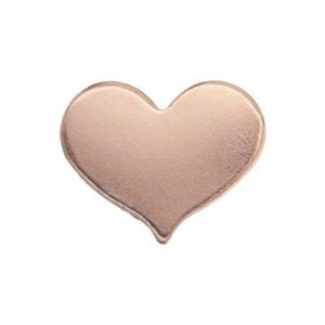 GFR256: Rose Gold-Filled Heart Blank