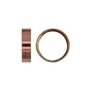 GFR5026: 14/20 Rose Gold-filled Tube Bezel with Seat,