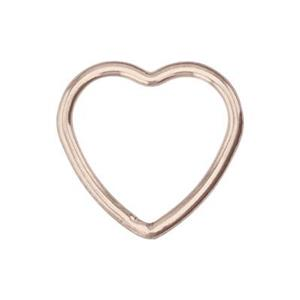 GFR542: 14/20 Rose GF Wire Heart Link