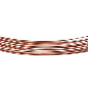 GFWR22H-5: 14/20 Rose GF 5ft .025 Round Half Hard Wire Kit