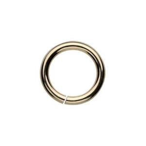 GJ107: Gold-Filled 7mm Open Jump Ring