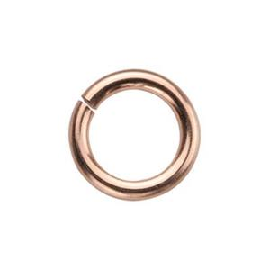 GJR128: Rose Gold-Filled 8mm Open Jump Ring