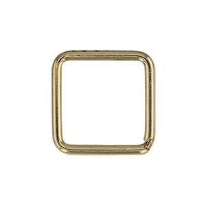 GJSR487: Gold-Filled 8.2mm Soldered Square Jump Ring