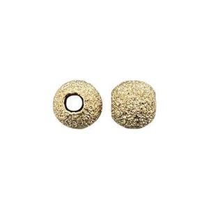 GL4: Gold-Filled Stardust 4mm Round Bead