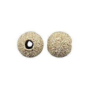 GL5: 14/20 Gold-filled Stardust 5mm Round Bead