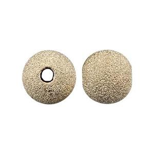 GL6: 14/20 Gold-filled Stardust 6mm Round Bead