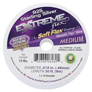 JFX1930STG: SoftFlex Sterling Silver Plated Extreme Flex Wire