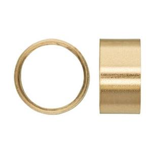 KT928: 14kt Gold 8mm Bezel Tube With Seat