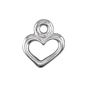 P2095S: Pewter Heart Charm