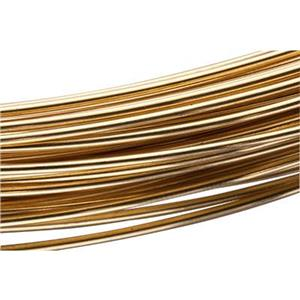 RBW18: Red Brass 18 Gauge Dead Soft Round Wire