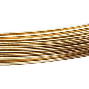 RBW22: Brass 22 Gauge Dead Soft Round Wire