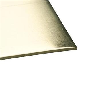RBWS22: Brass 22 Gauge Soft Sheet