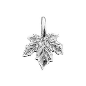 S1289: Sterling Silver Maple Leaf Charm