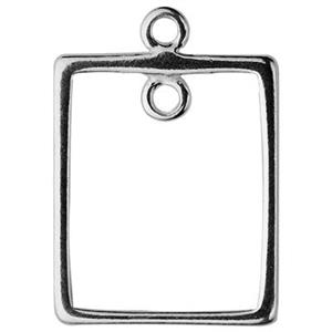 S1296: Sterling Silver Rectangle Chandelier