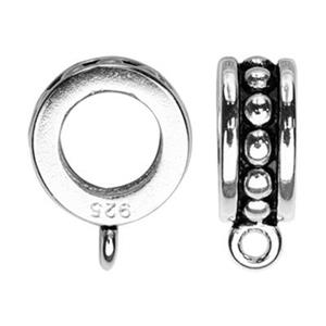 S1330: Sterling Silver Slide Tube Bail