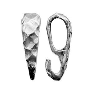 S1630: Sterling Silver mm Hinged Hoop Earring