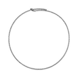 S1808: Sparkle Wire Hoop Earring