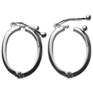 S2004: Sterling Silver Hinged Enhancer Findings