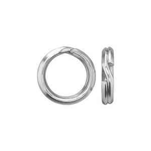 S30616: Sterling Silver 7mm Split Ring