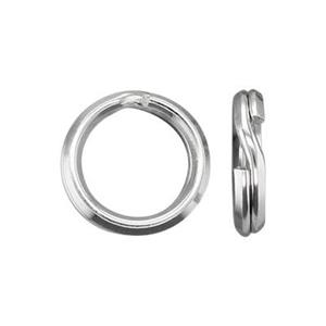 S30618: Sterling Silver 8mm Split Ring