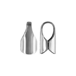 S30: Sterling Silver Tube End Cap