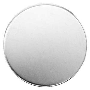 S42018: Sterling Silver Round Blank (No Hole)