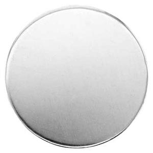 S42020: Sterling Silver Round Blank (No Hole)