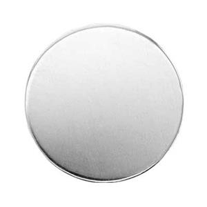 S42215: Sterling Silver Round Blank (No Hole)