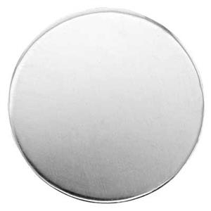 S42230: Sterling Silver Round Blank (No Hole)