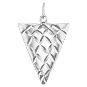 S512: Curved Triangle Spike Dangle