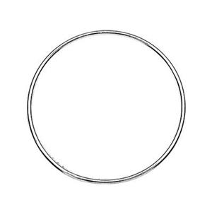S5443: Sterling Silver Wire Circle 25.5mm Link