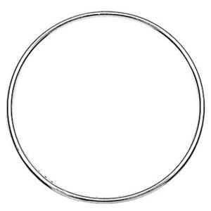 S5444: Sterling Silver Wire Circle 30mm Link