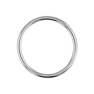 S6001: Sterling Silver 14mm Wire Circle Link