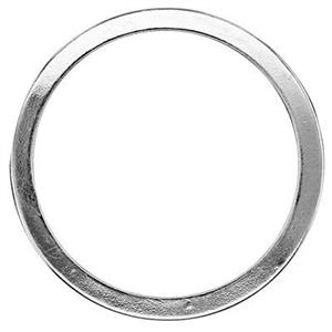 S6222: Sterling Silver 25mm Circle Washer Link