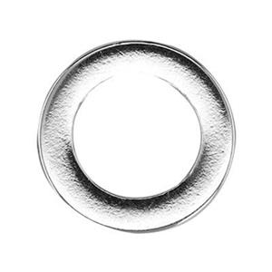 S6223: Sterling Silver 11.7mm Circle Washer Link