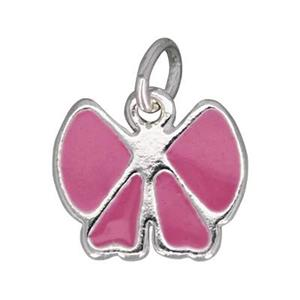 S705E: Enameled Bow Charm