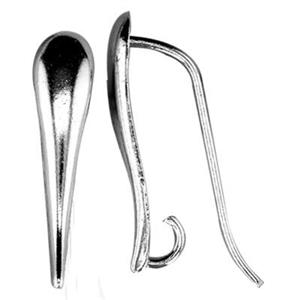 SA103: Sterling Silver Tapered Fancy Earwire